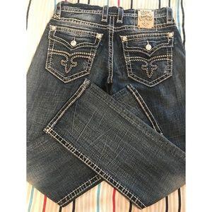 Men Rock Revival Jeans
